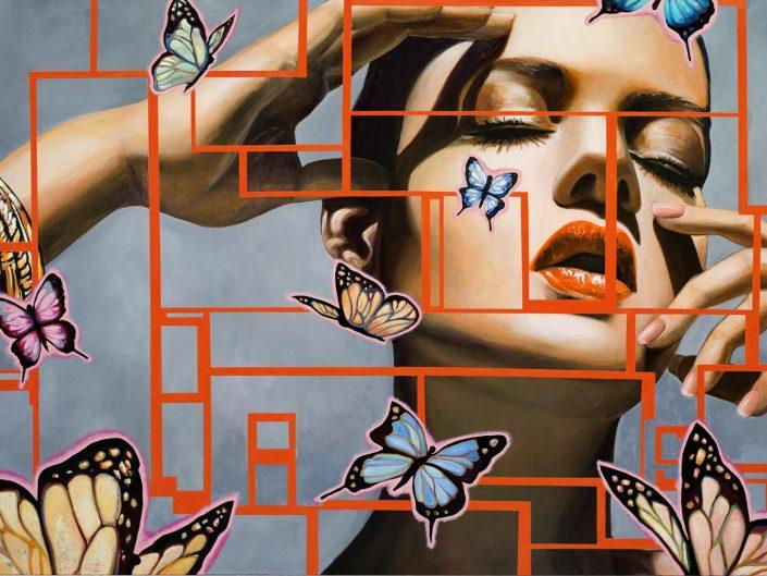 Manzur Kargar - Butterflies III