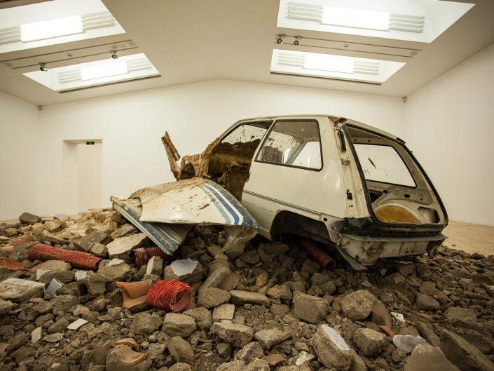 Eberhard Bosslet - installation view