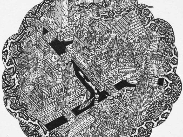 Finn Lafcadio O'Hanlon - STUDY OF A FICTIONAL SENSE OF PLACE, Finn Lafcadio O´Hanlon