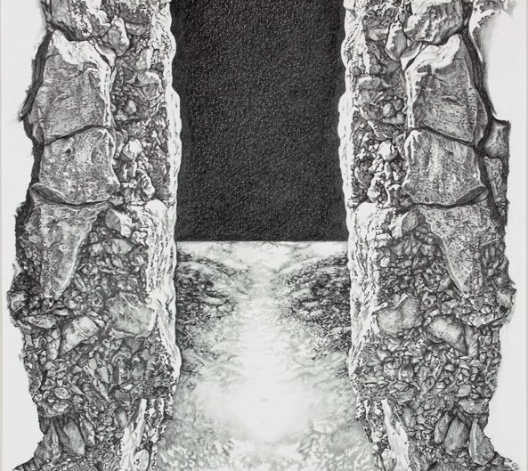 SYMPLEGADEN, 2012,pencil on water colour paper, 60x40 cm