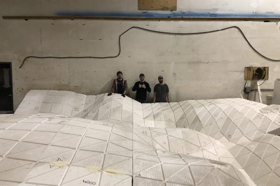 Thorsten Goldberg's public art project for NETG Edmonton