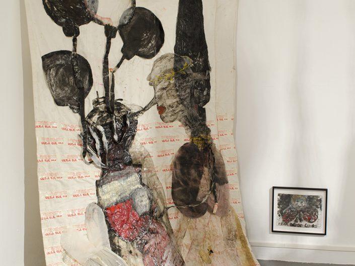 Ruthi Helbitz Cohen, SET, 2017, Installation View, Haifa Museum, Israel