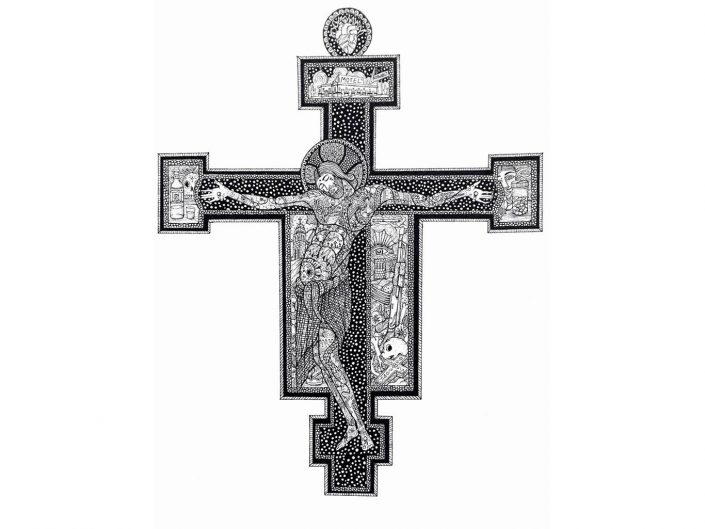 Finn Lafcadio O´Hanlon - CRUCIFIX AFTER CIMBAUE