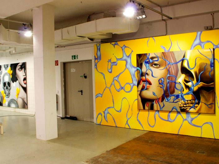 Manzur Kargar - installation view